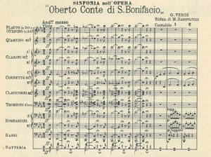 Verdi - Oberto per Banda